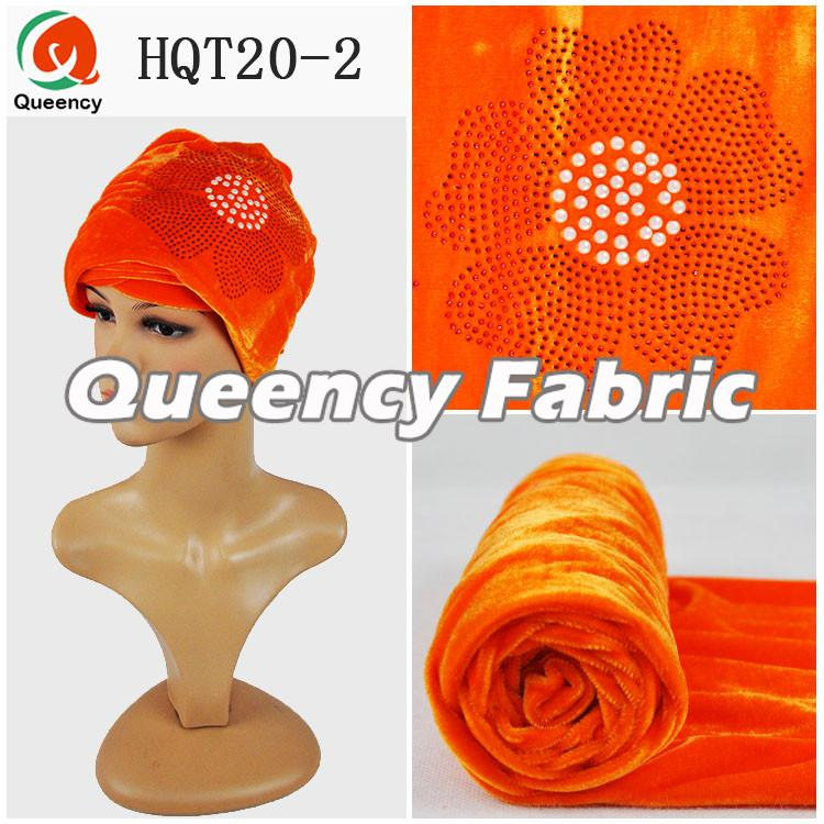 Orange Hijab Tube Turbans