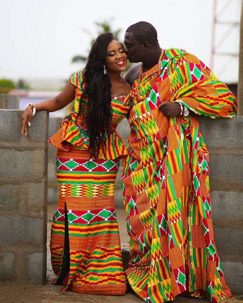 African Satin Clothes