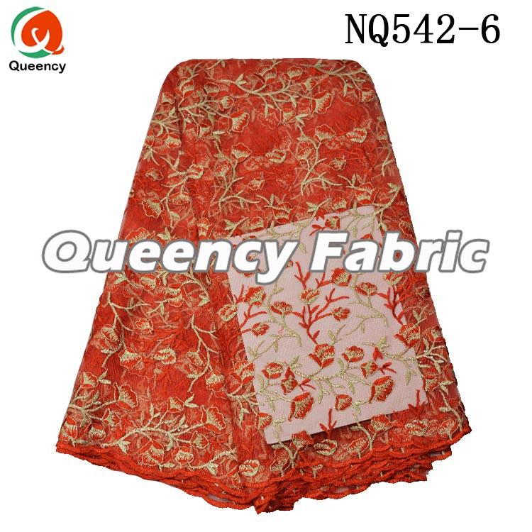 African Embroidered Lace French Fabric