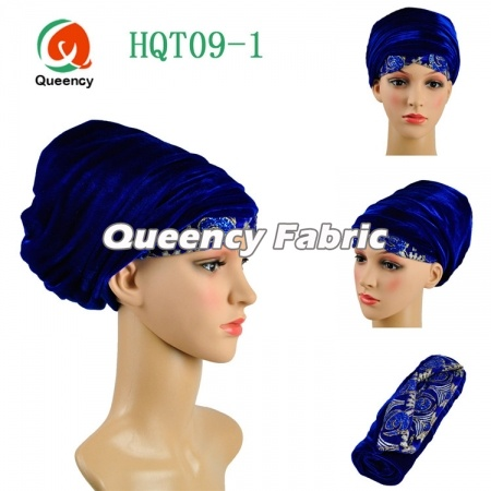 Fashion Turbans Style Muslim Embroidery Scarf